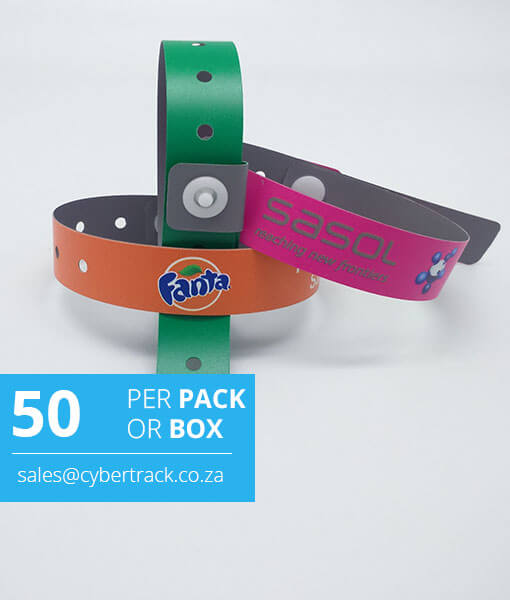 photo regarding Printable Wristbands for Events identified as Total Color Revealed L-form Vinyl